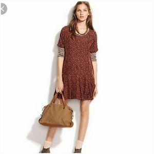 Madewell Broadway & Broome Fireflicker silk dress